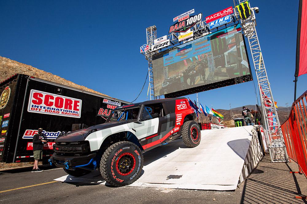Bronco R Race Prototype to Run Baja 1,000-Mile Desert Race
