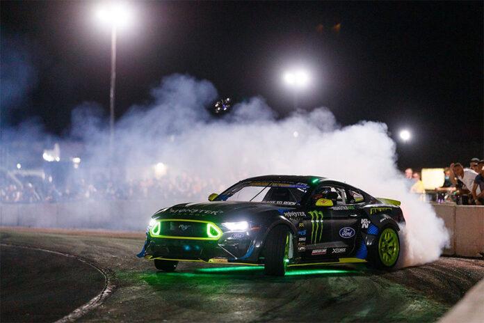 Formula Drift Implements Under Car LED Lighting