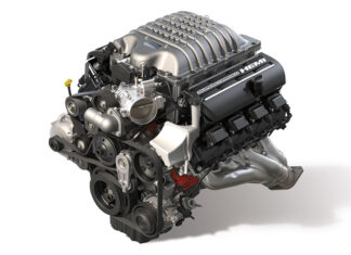 Hellcrate Redeye 6.2-liter Supercharged HEMI V-8