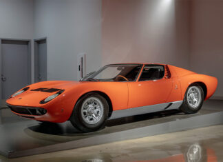 Iconic Lamborghini Petersen Automotive Museum Exhibit