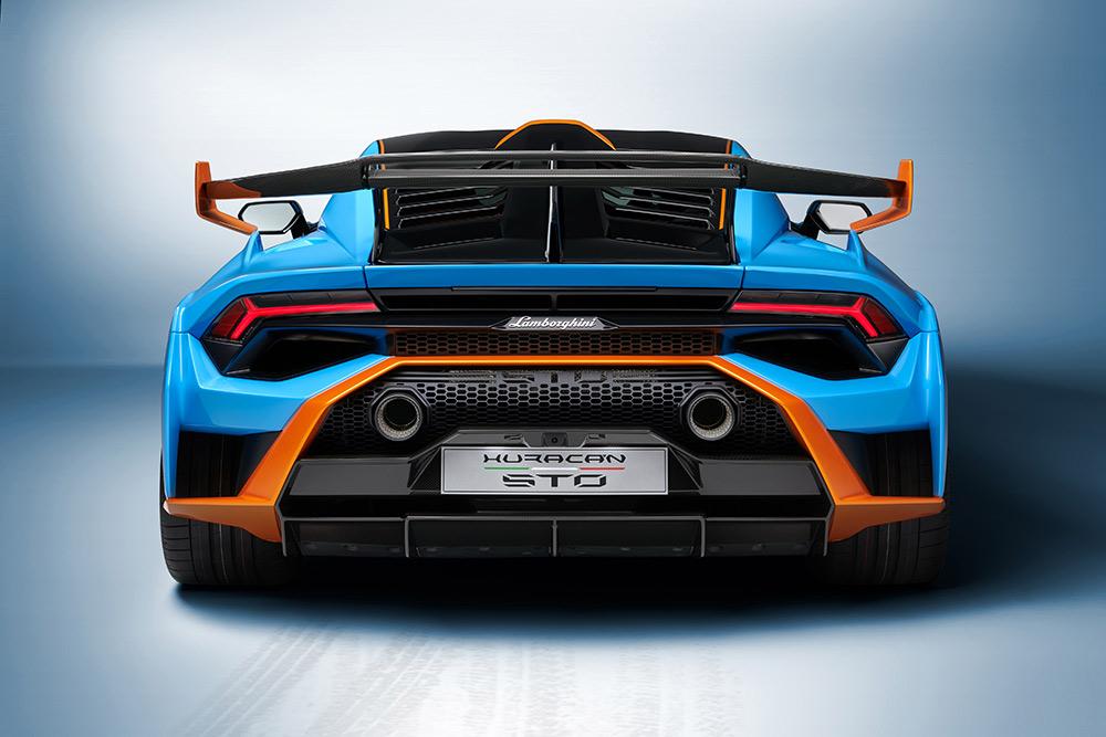 Lamborghini Huracán STO Super Trofeo Omologata