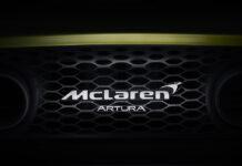 McLaren Artura Hybrid Supercar
