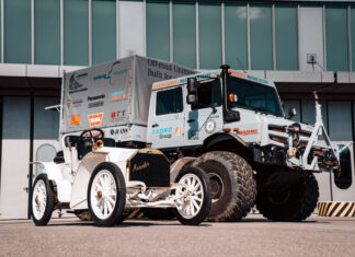 Mercedes Unimog and Simplex Meet