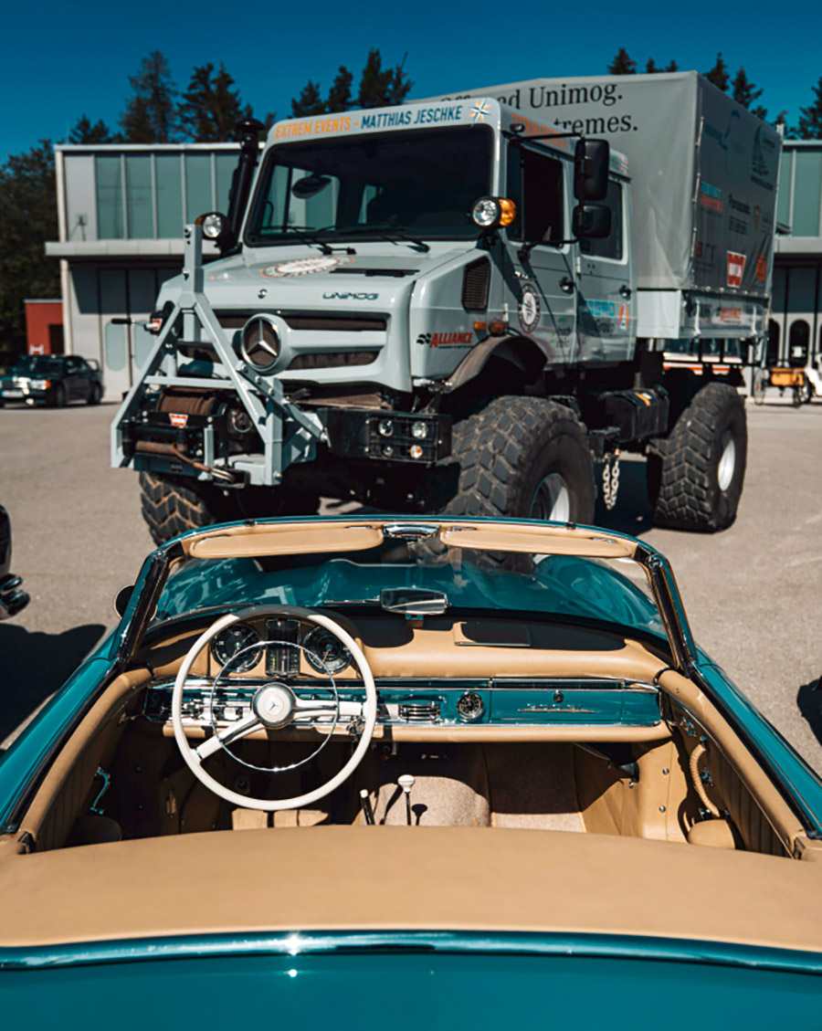 Mercedes Unimog and Simplex Meet