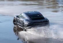 Porsche Taycan Drifts Guinness World Records Book at Hockenheimring