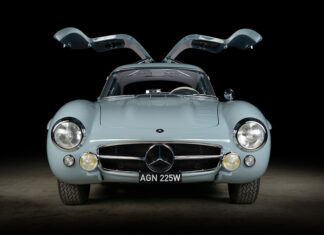 Thornley Kelham Mercedes 300SL Gullwing Restoration
