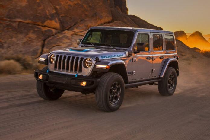 2021 Jeep Wrangler Rubicon 4xe Sahara