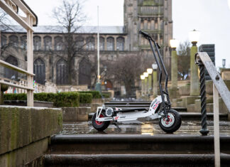 AC Cars Autokraft by AC Two Wheel Scooter