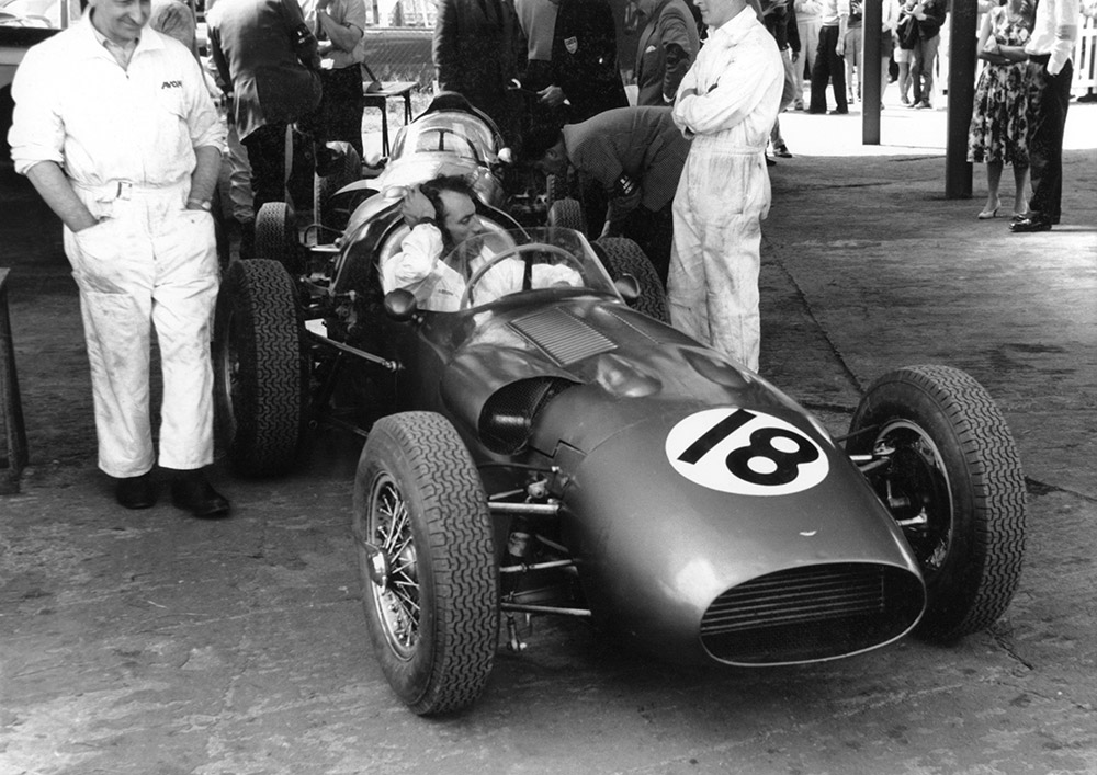The history of Aston Martin in Grand Prix racing