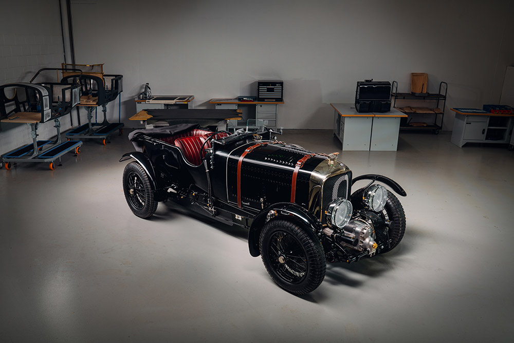 Bentley Blower Continuation Prototype Completed