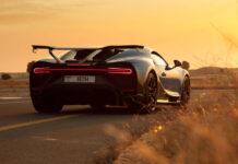 Bugatti Chiron PUR Sport Dubai Test Drives