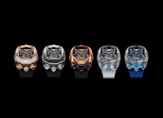 Bugatti Chiron Tourbillon Timepiece Limited Editions