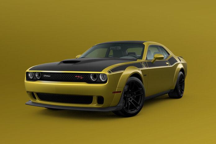 2021 Dodge Challenger Gold Rush exterior paint color