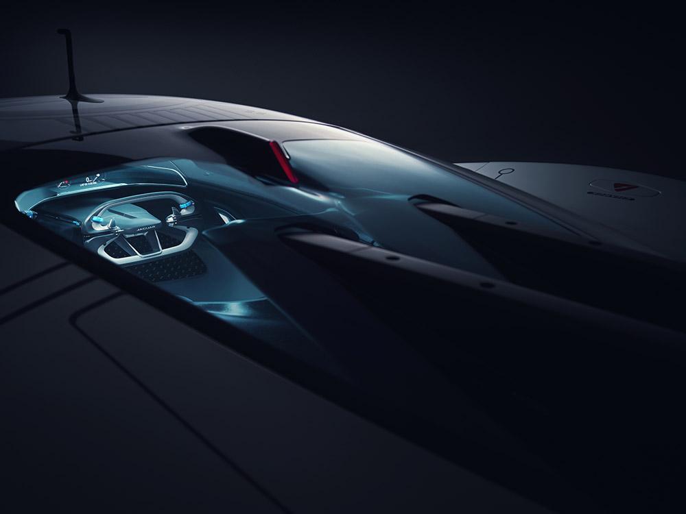 Jaguar Vision Gran Turismo SV Gaming Racer