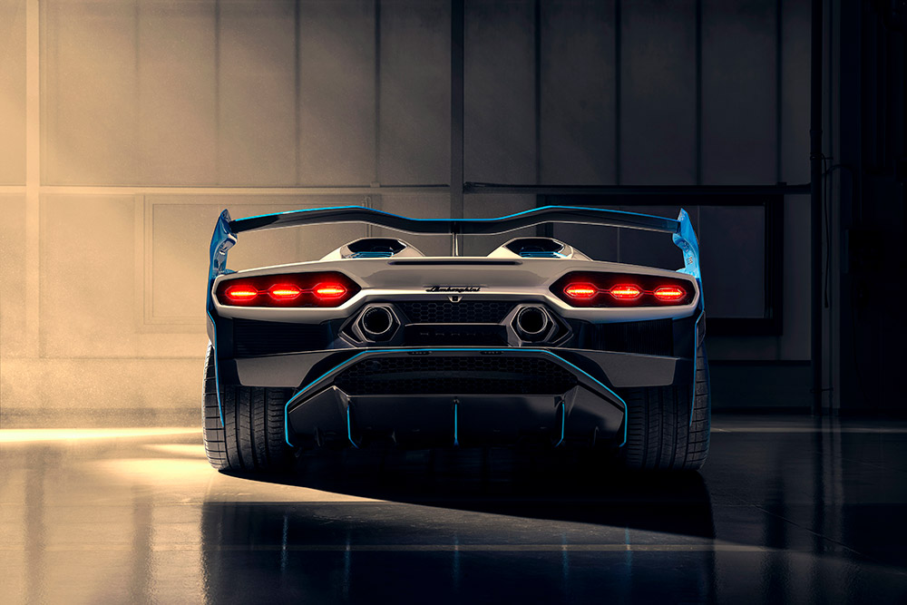 Lamborghini SC20 Open Top Track Car