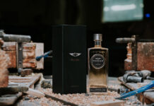 Morgan Motor Company gin infused with ash wood
