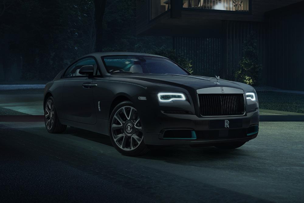 Rolls-Royce Wraith Kryptos Code Clue