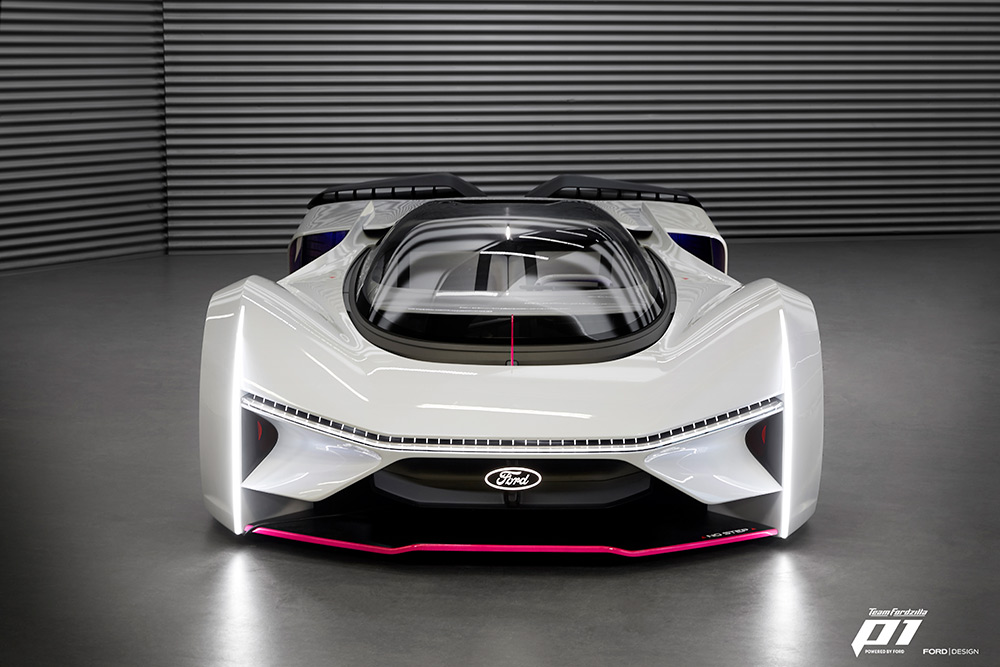 Team Fordzilla's Extreme P1 Virtual Race Car