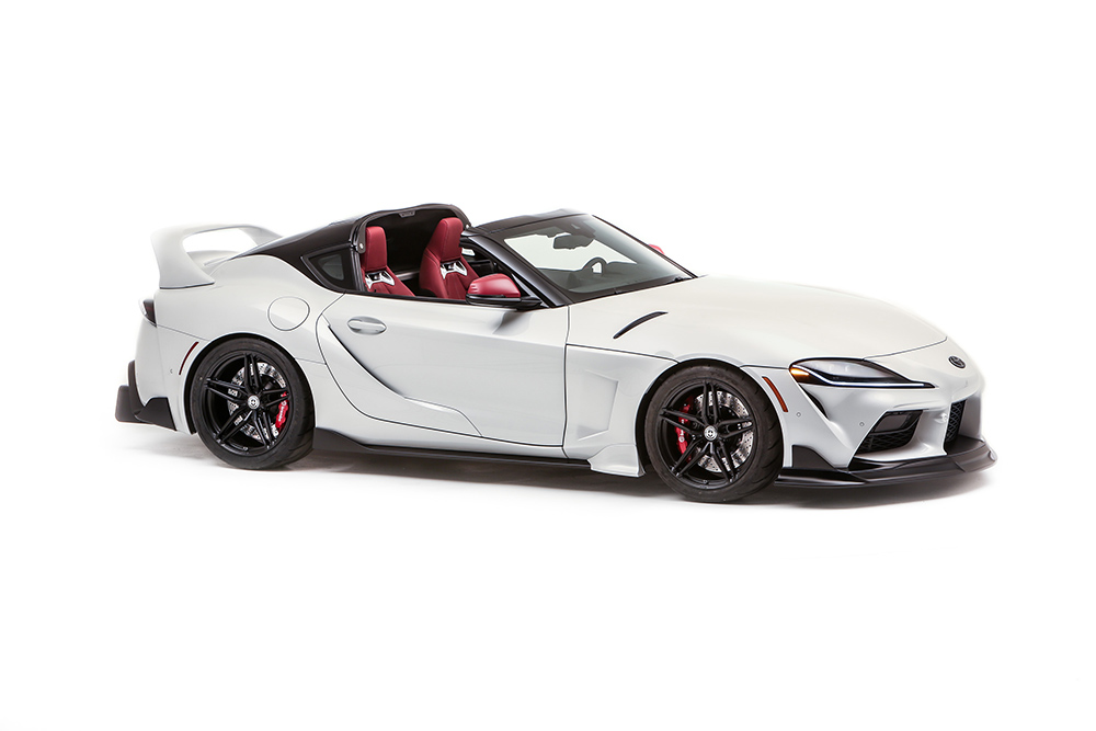 Toyota Reveals Additional SEMA Builds Based on Supra and Tacoma
