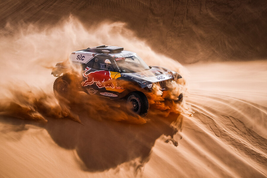 2021 Dakar Rally Sixth overall win for MINI Cooper