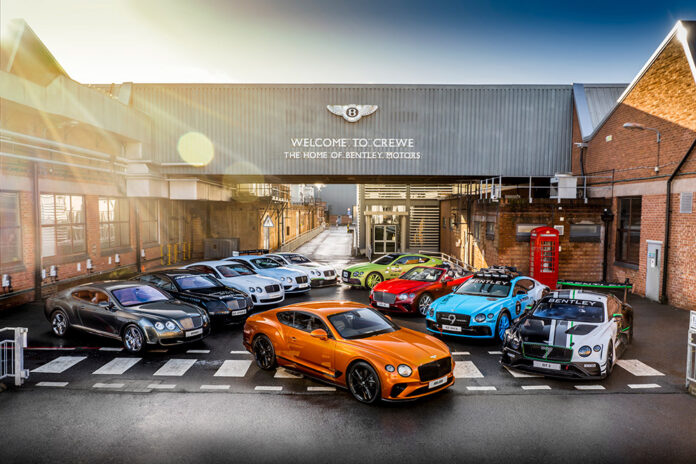 80,000th Bentley Continental GT Produced