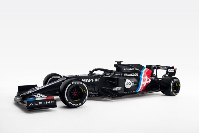 Alpine Formula One Team Launched