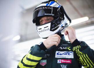Aston Martin Bulldog Driver Darren Turner