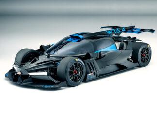 Bugatti Bolide 3D-Printed Components