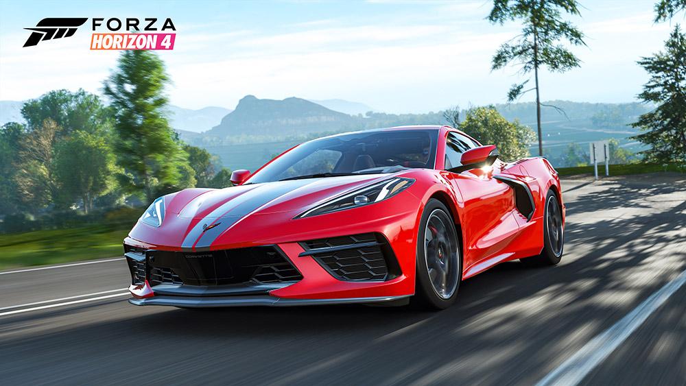 Chevrolet Corvette Stingray on Forza Horizon 4 Game