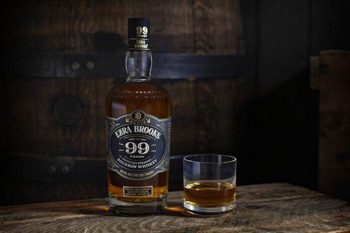 Ezra Brooks 99 Kentucky Straight Bourbon Whiskey Introduced