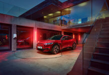 Ford bp Pulse Charging Stations for Mustang Mach-E