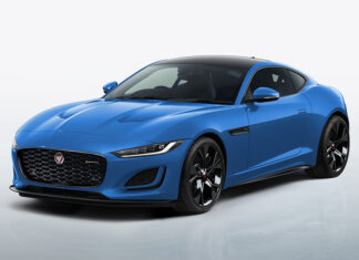 Jaguar F-Type Reims Edition in French Racing Blue
