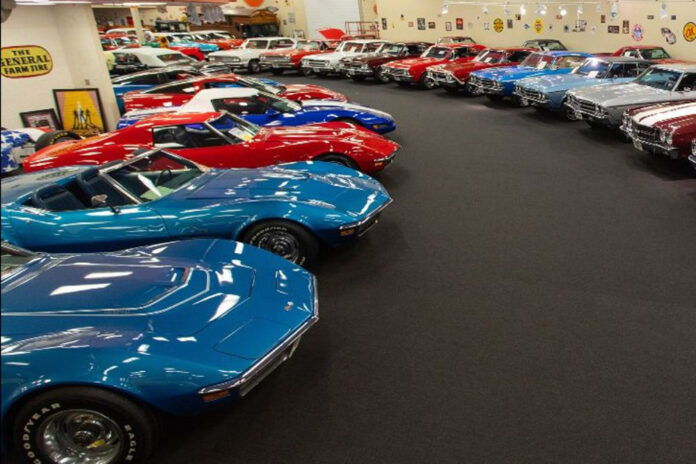 Mecum Auctons Rick Treworgy Muscle Car Collection