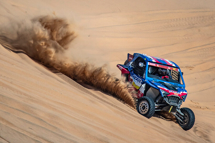 Polaris Teams at Dakar 2021 in Photographs