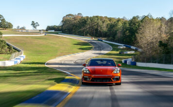2021 Porsche Panamera Turbo S sets production sedan record at Road Atlanta
