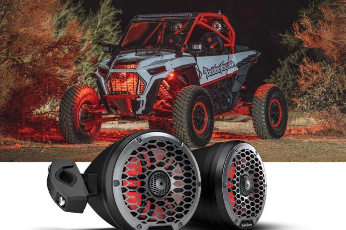 Rockford Fosgate Outdoor Motorsports Can Speakers