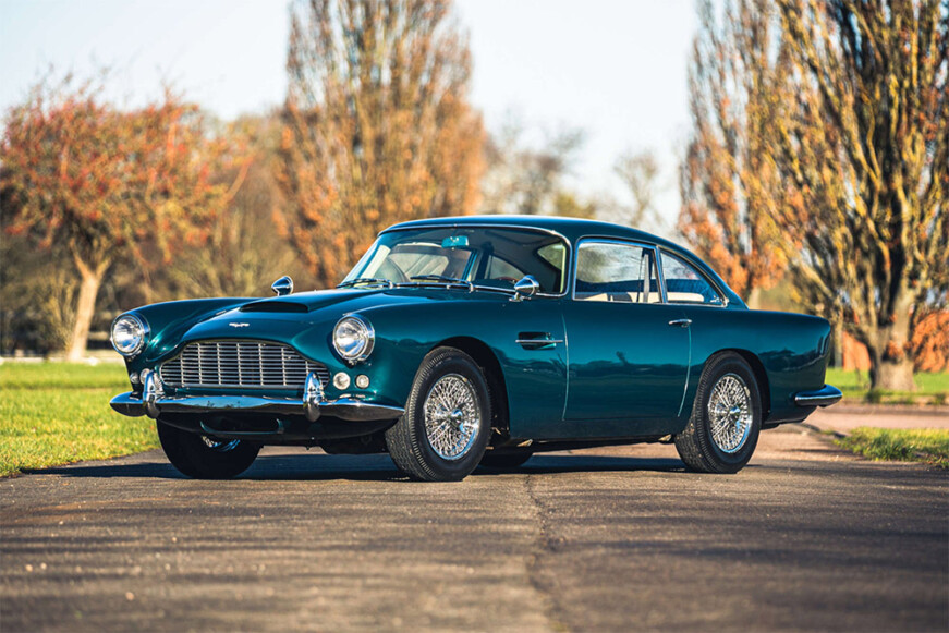 Silverstone Auctions Race Retro Sale 1963 Aston Martin DB4 Series 5
