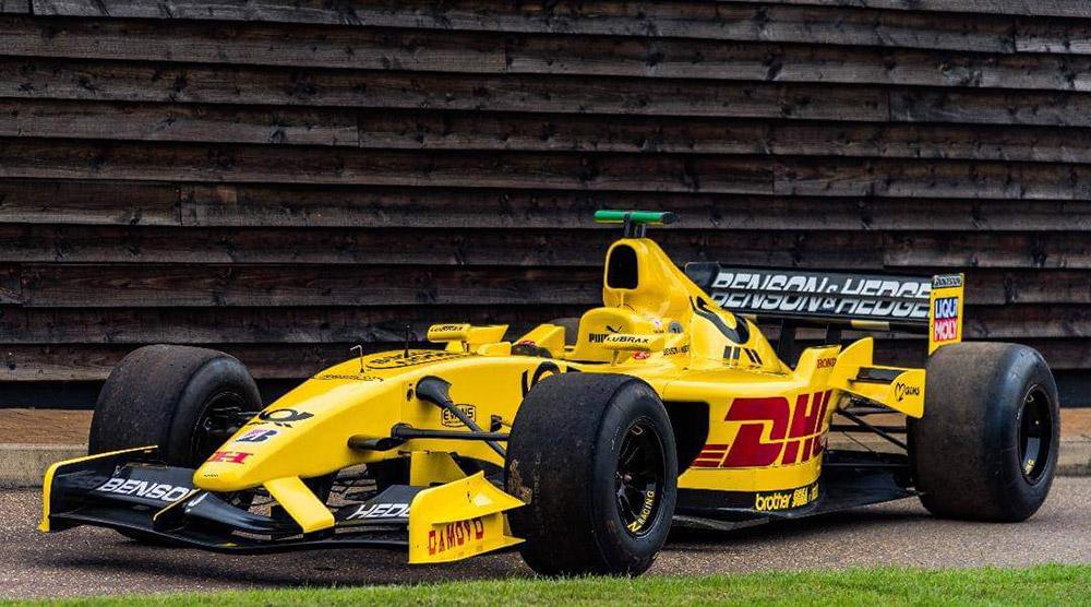 TrackDays Jordan F1 Car Drive
