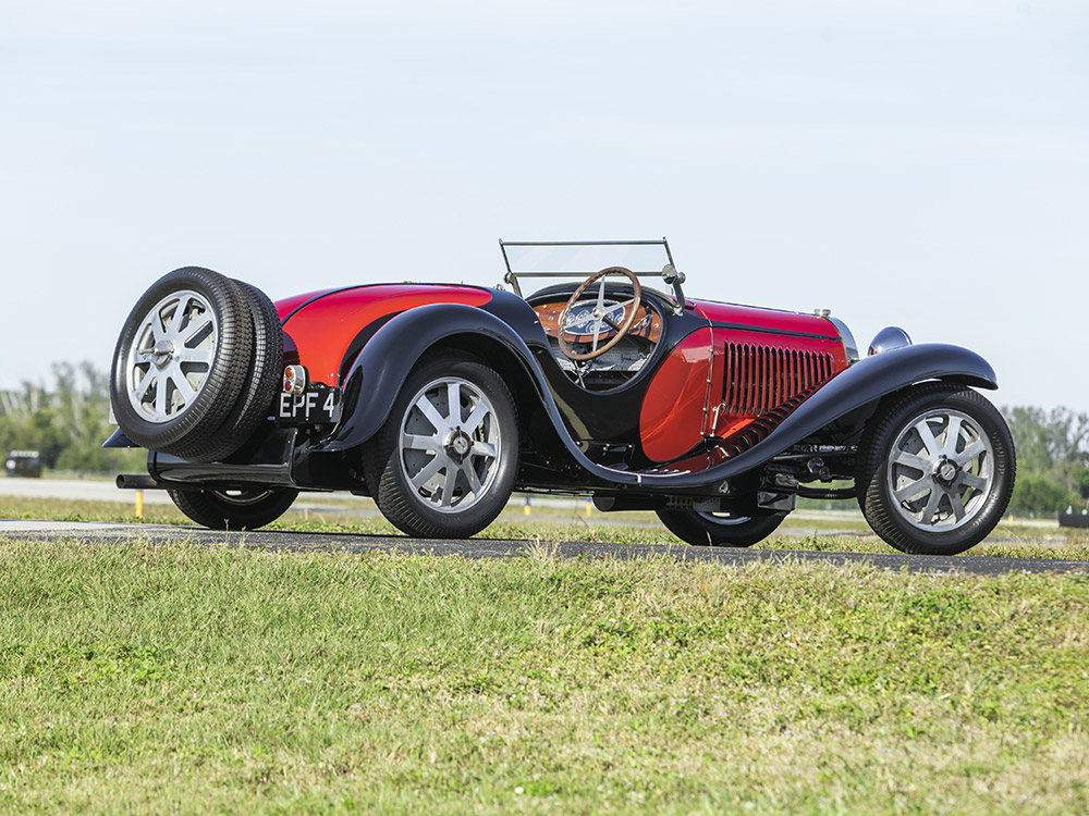 1932 bugatti type 55 roadster auction records