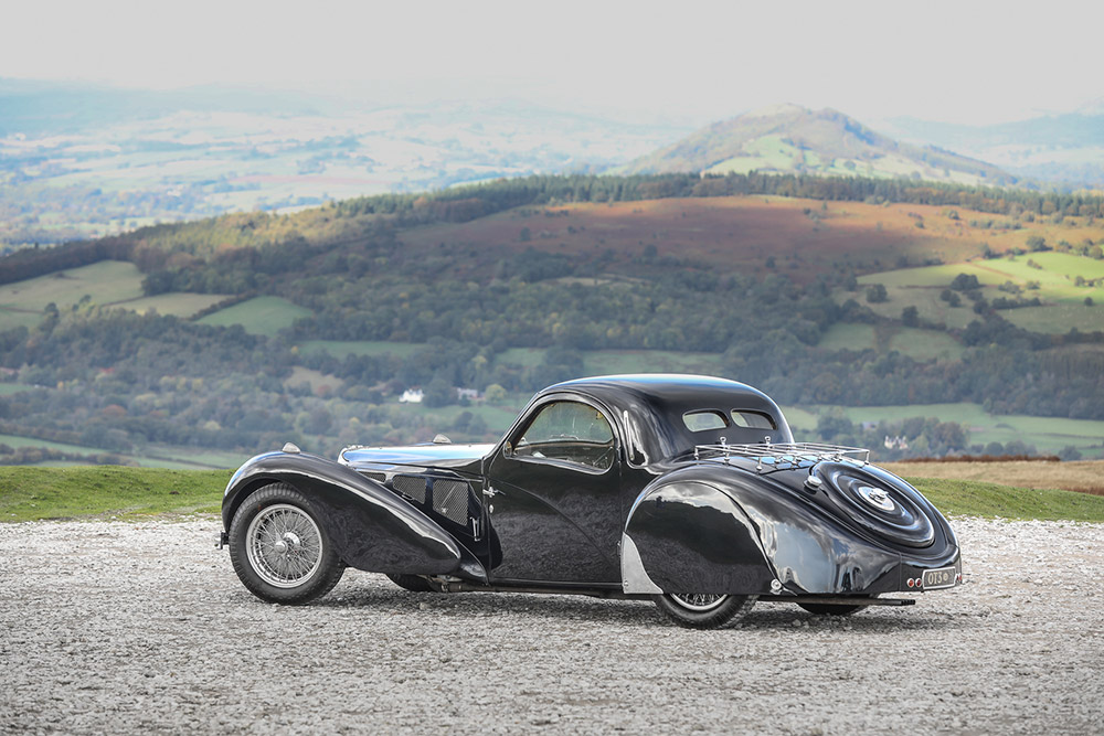 1937 bugatti type 57s atalante auction records