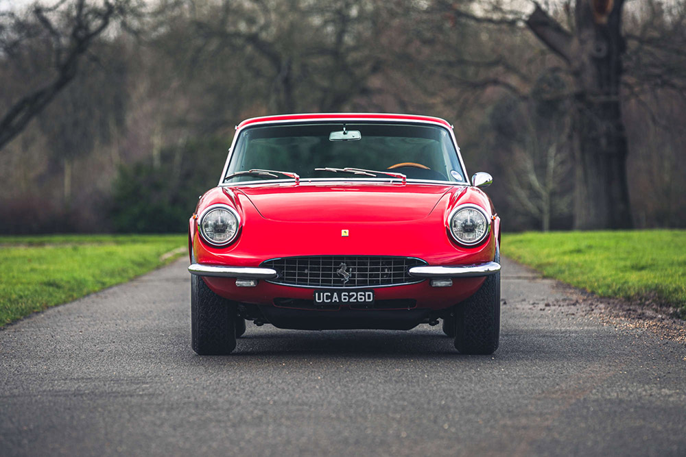 1968 Ferrari 330 GT Coupé by Pininfarina at Silverstone Auctions Race Retro