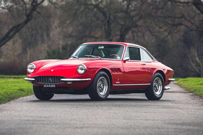 1968 Ferrari 330 GT Coupé by Pininfarina at Silverstone Auctions Race Retro