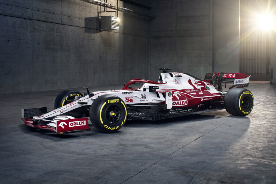 Alfa Romeo Racing ORLEN C41 Formula One Car Unveiled