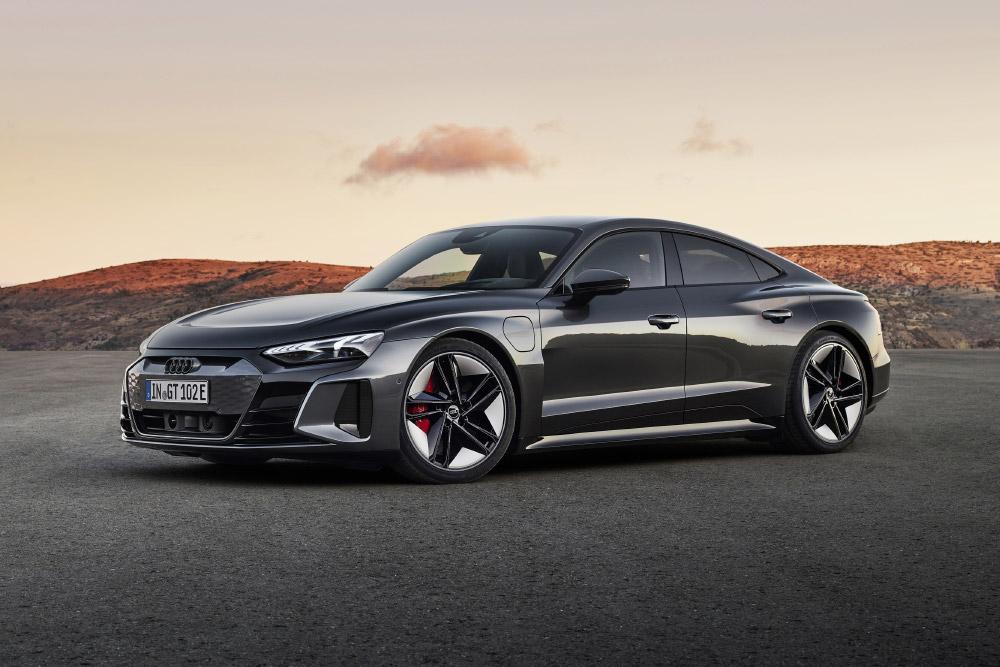 Audi e-tron GT quattro and RS e-tron GT