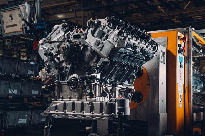 Bentley Bacalar W12 Engine Completes Testing