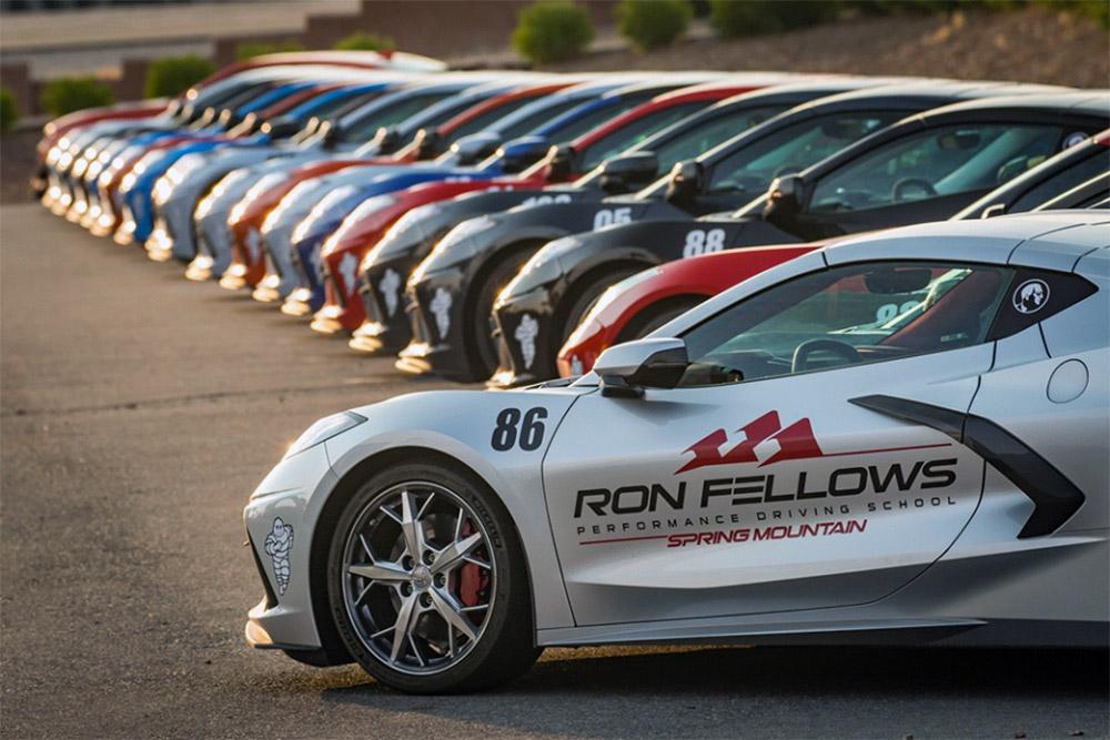 Ron Fellows C8 Corvette Driving Experience Spring Mountain