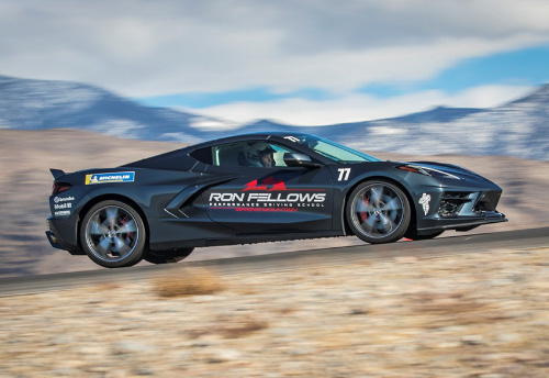 Ron Fellows C8 Corvette Driving Experience Spring Mountain