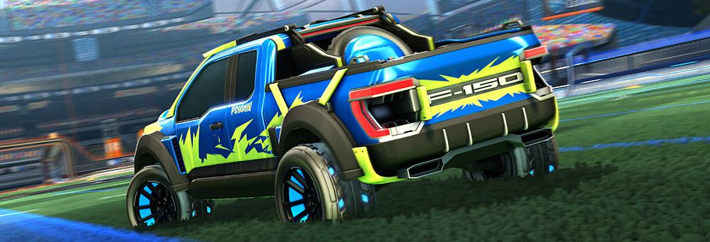 Ford F-150 Psyonix Rocket League Edition