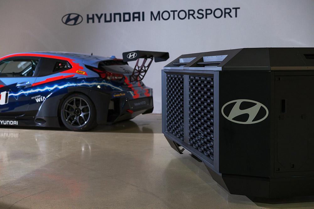 Hyundai Motorsports Electric Racing