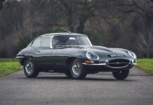 Jaguar E-Type at Silverstone Auctions Race Retro Sale